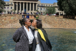 PROUD: like mother like daughter.  Photo: Mpho Manala